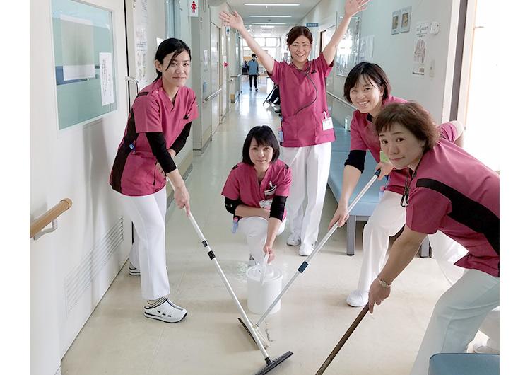 笠利病院のナース