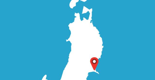 女川町地域医療センターの地図