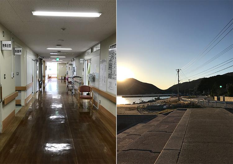 島の人の優しさ、総合医療の原点に触れて。(隠岐島前病院)