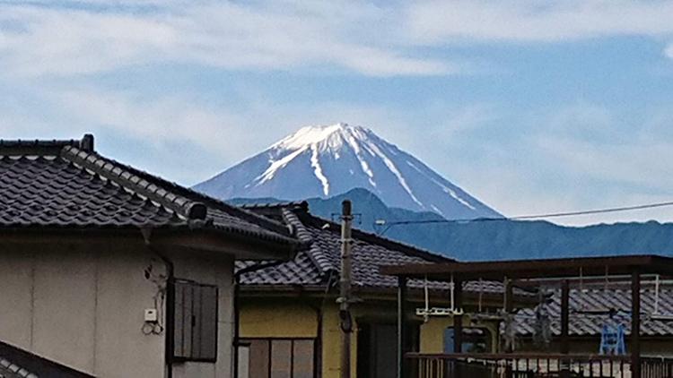 離島・僻地 看護師 牧丘病院での出会い(山梨市立牧丘病院) 富士山