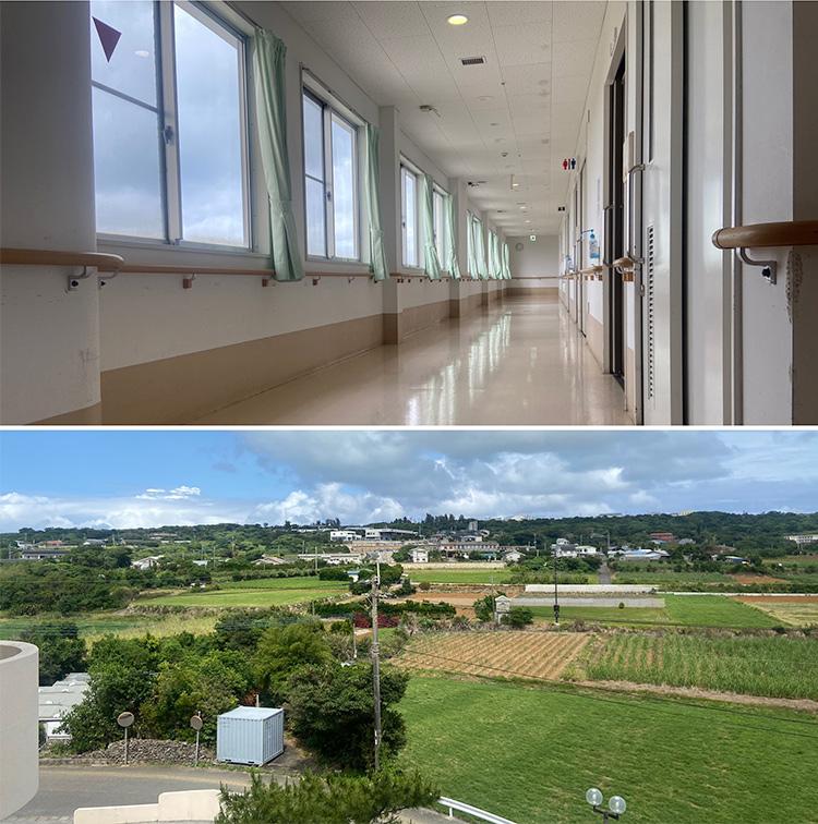 与論徳洲会病院より、宿舎と病院周辺の紹介